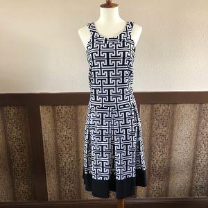 Sz 16: Tiana B. Sleeveless Pleated Dress